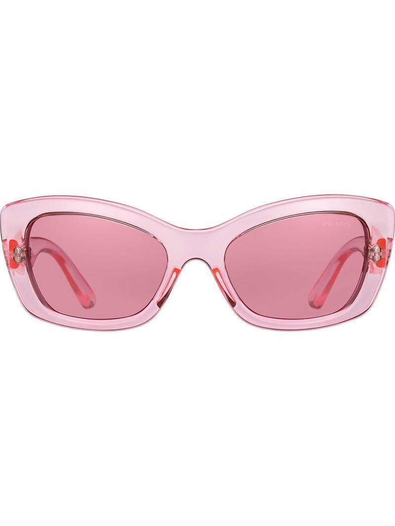 d4cd7c81d18f5 Lyst - Prada Prada Postcard Eyewear in Pink