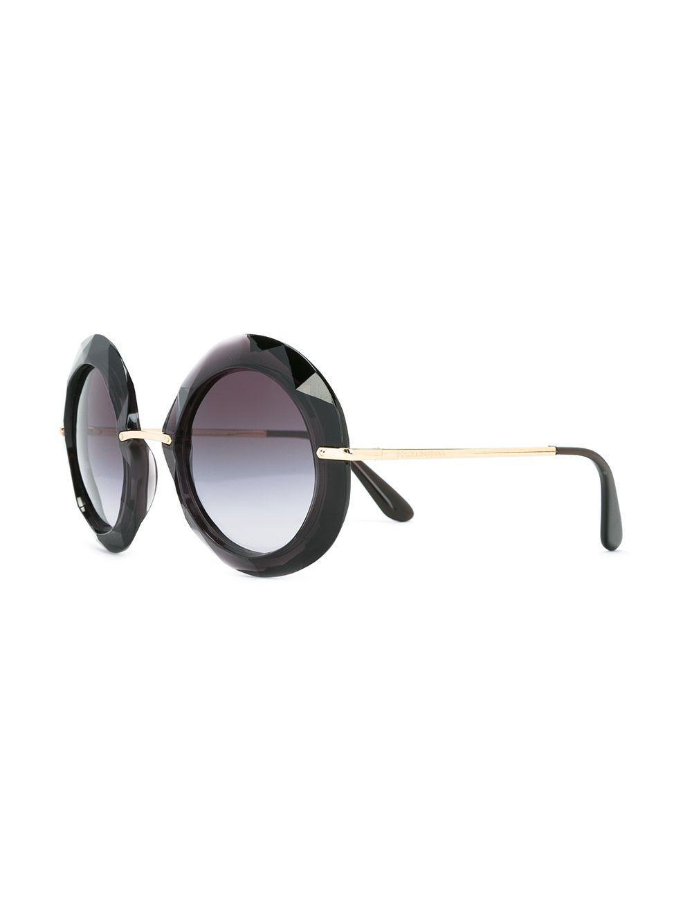 Dolce & Gabbana Oversized Sunglasses in Black