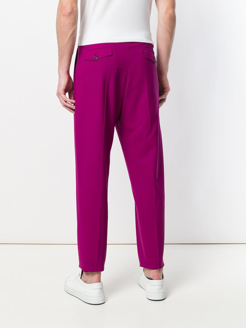 Paul Smith Wool Pleated Formal Trousers for Men