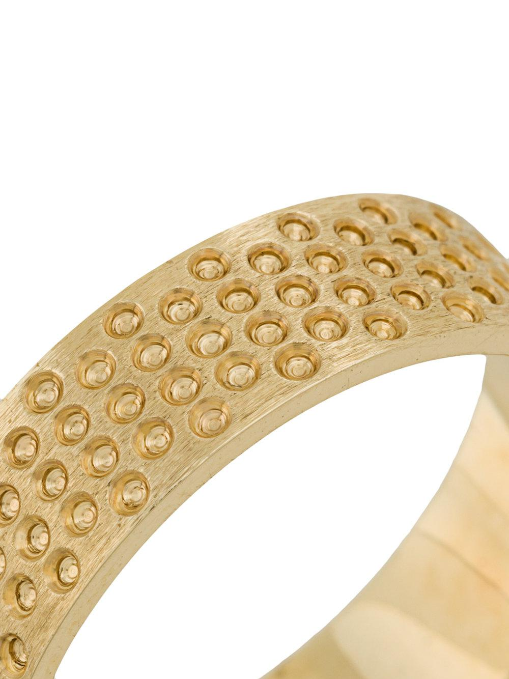 Savoir Joaillerie 14kt yellow gold Lui black diamonds ring - Metallic 9imtzDUN9N