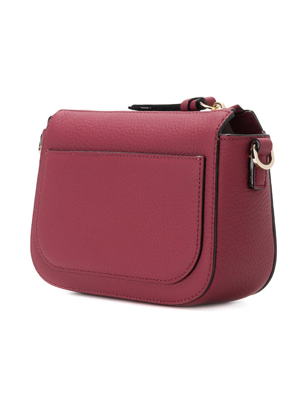 Kate Spade Leather Wendi Crossbody Bag in Red