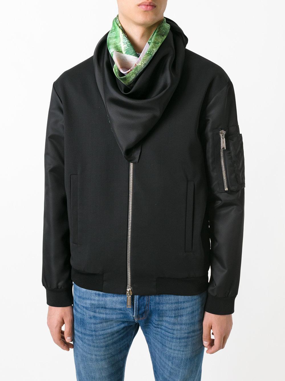 f0c7744f0bef Lyst - Écharpe à imprimé contrastant Givenchy pour homme en coloris Noir