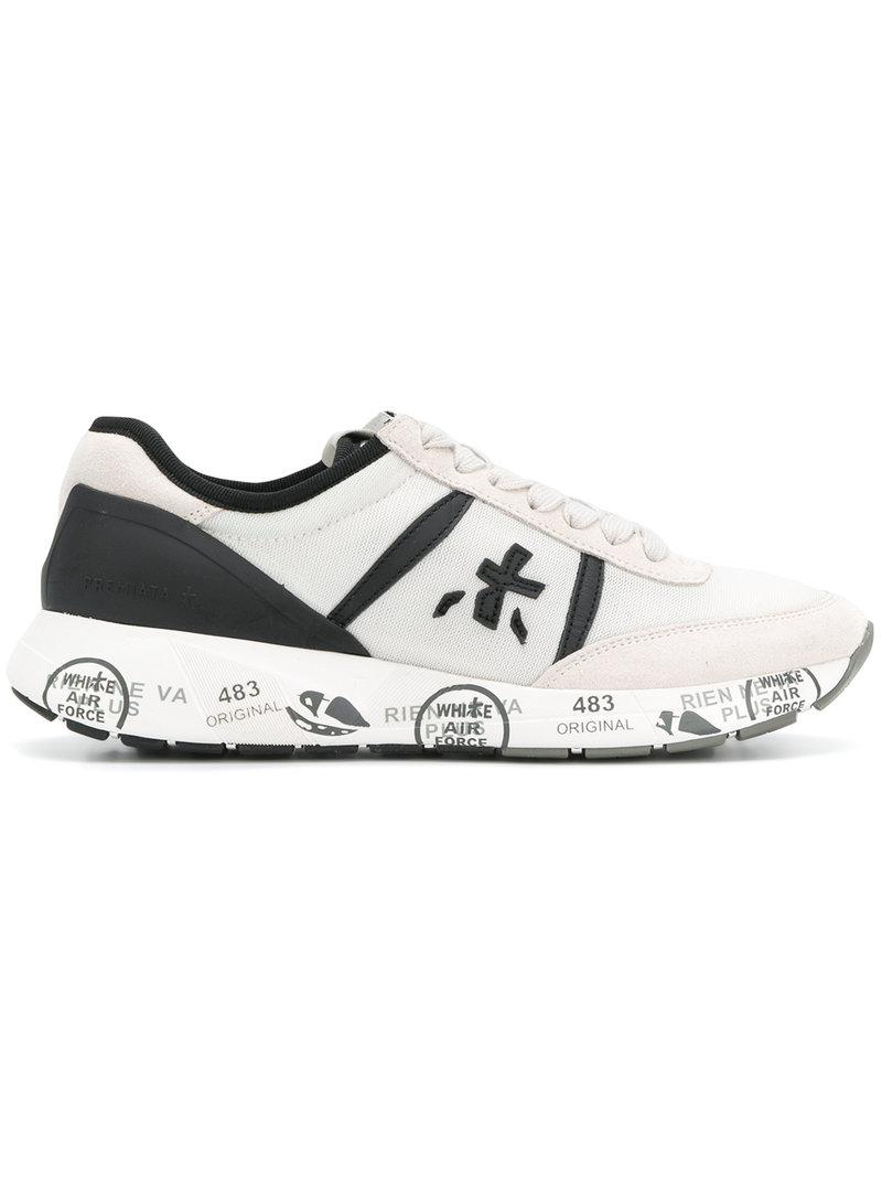 White Premiata Panelled sneakers Quality Free Shipping Ost Release Dates 5EnIIVksZ