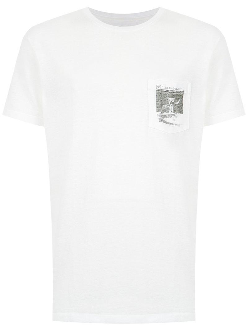 chest pocket T-shirt - Black Osklen Cheap Sale Fast Delivery sfAPK5m2