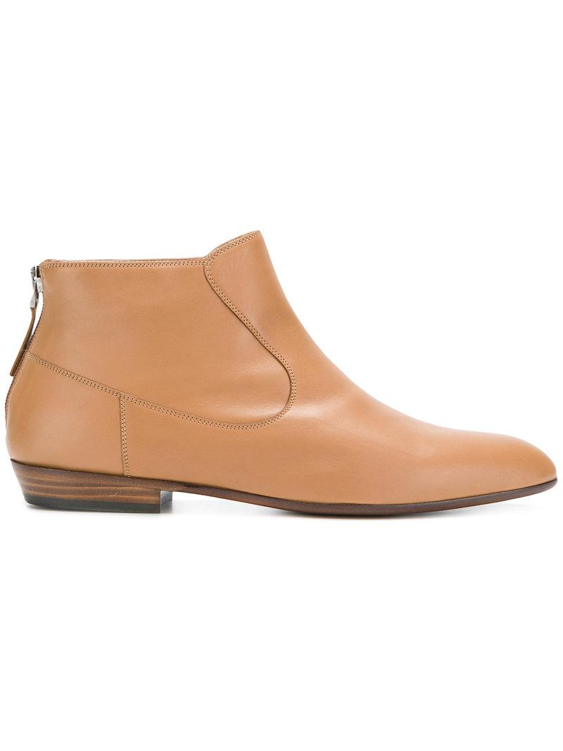 zipped boots - Brown Sartore Good Selling For Sale wC4WlB