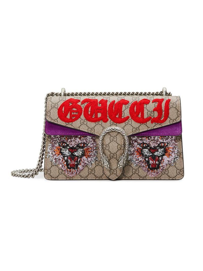 323028cc440 Gucci. Women s Dionysus GG Supreme Shoulder Bag