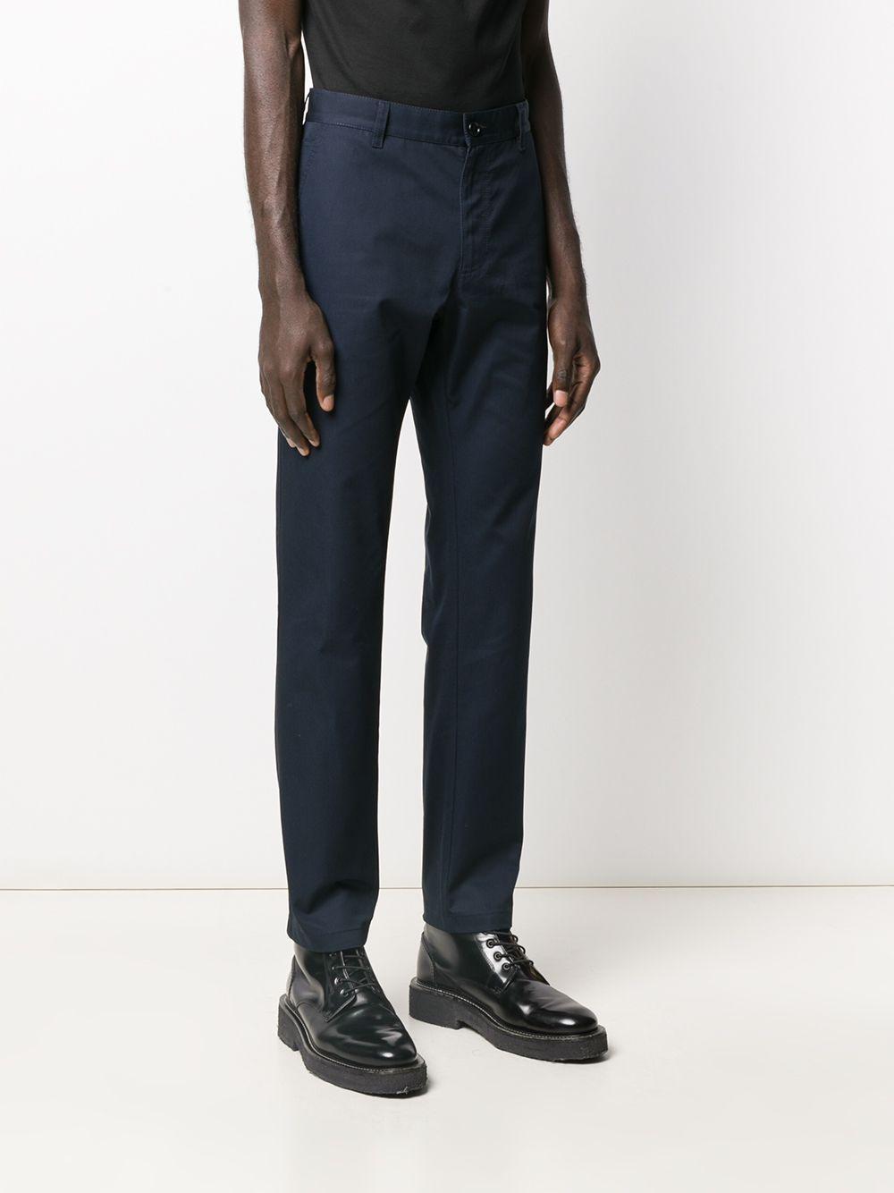 Versace Straight Broek in het Blauw voor heren
