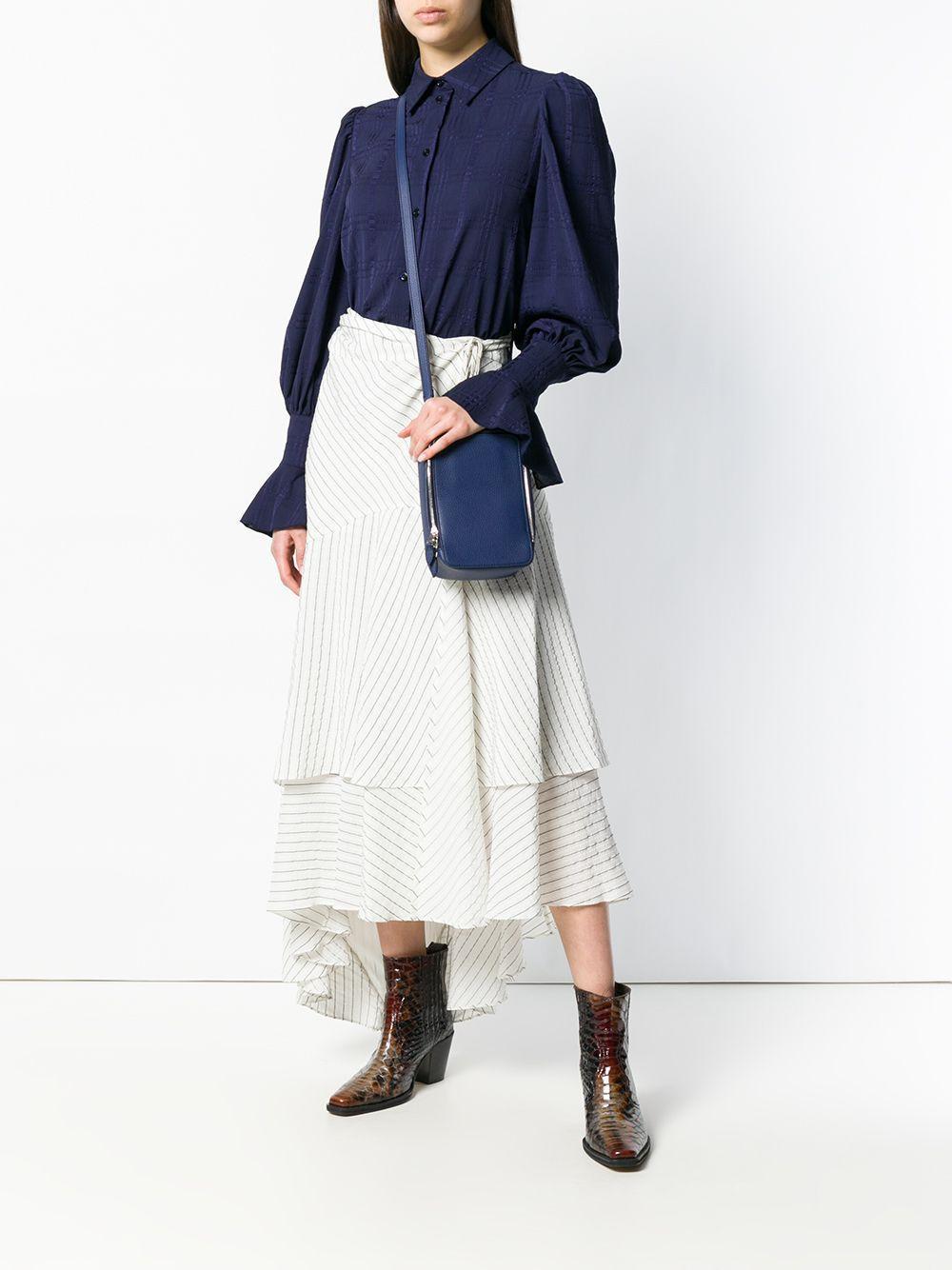 Sac porté épaule Pavé Parisien Cuir Sonia Rykiel en coloris Bleu