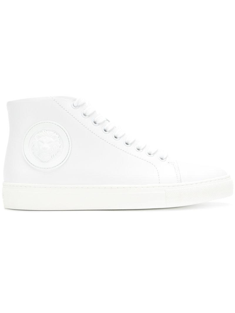logo plaque sneakers - White Versus gg84pkcqm