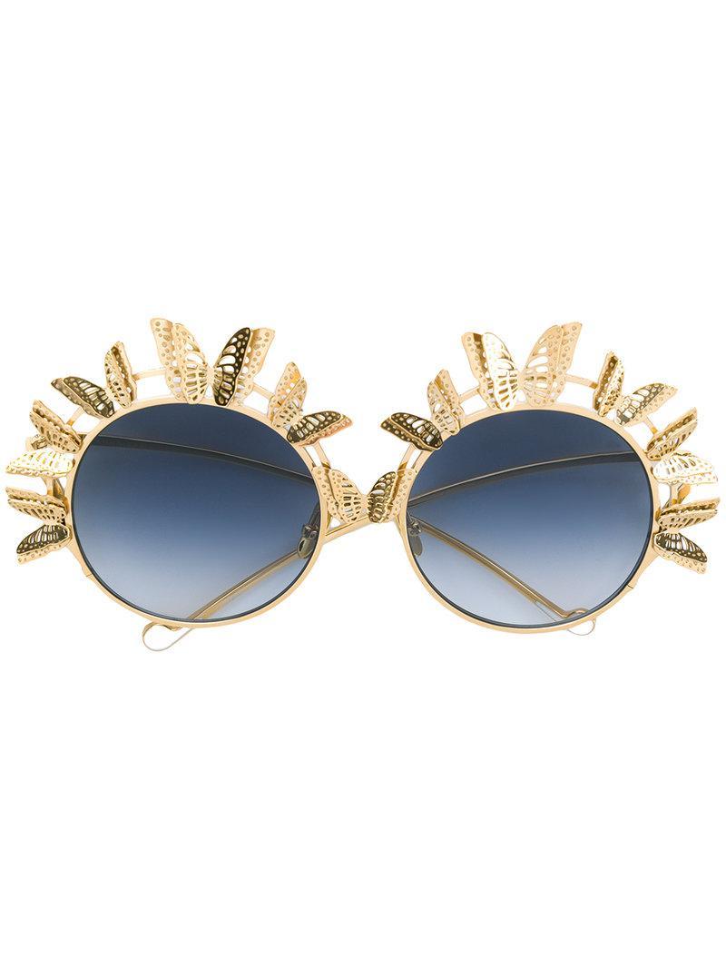 518e09786d Anna Karin Karlsson - Metallic The Butterfly Sunglasses - Lyst. View  fullscreen