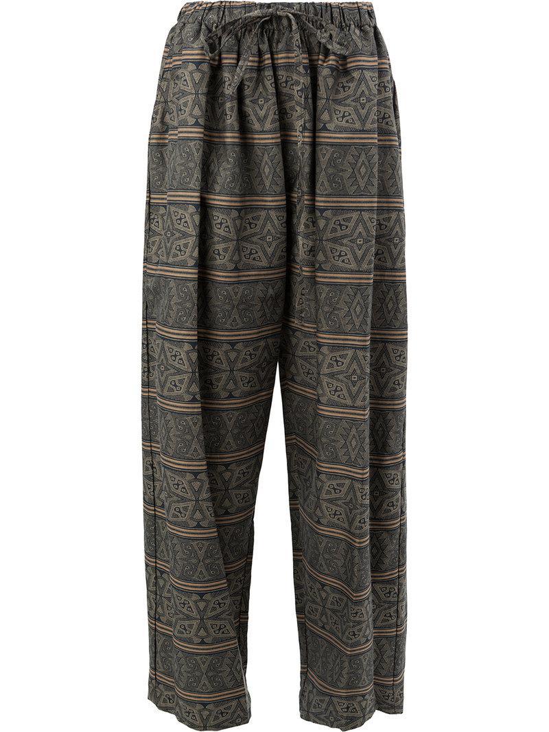 Pantalon À Carreaux - Multicolor Edward Crutchley PDoZKG