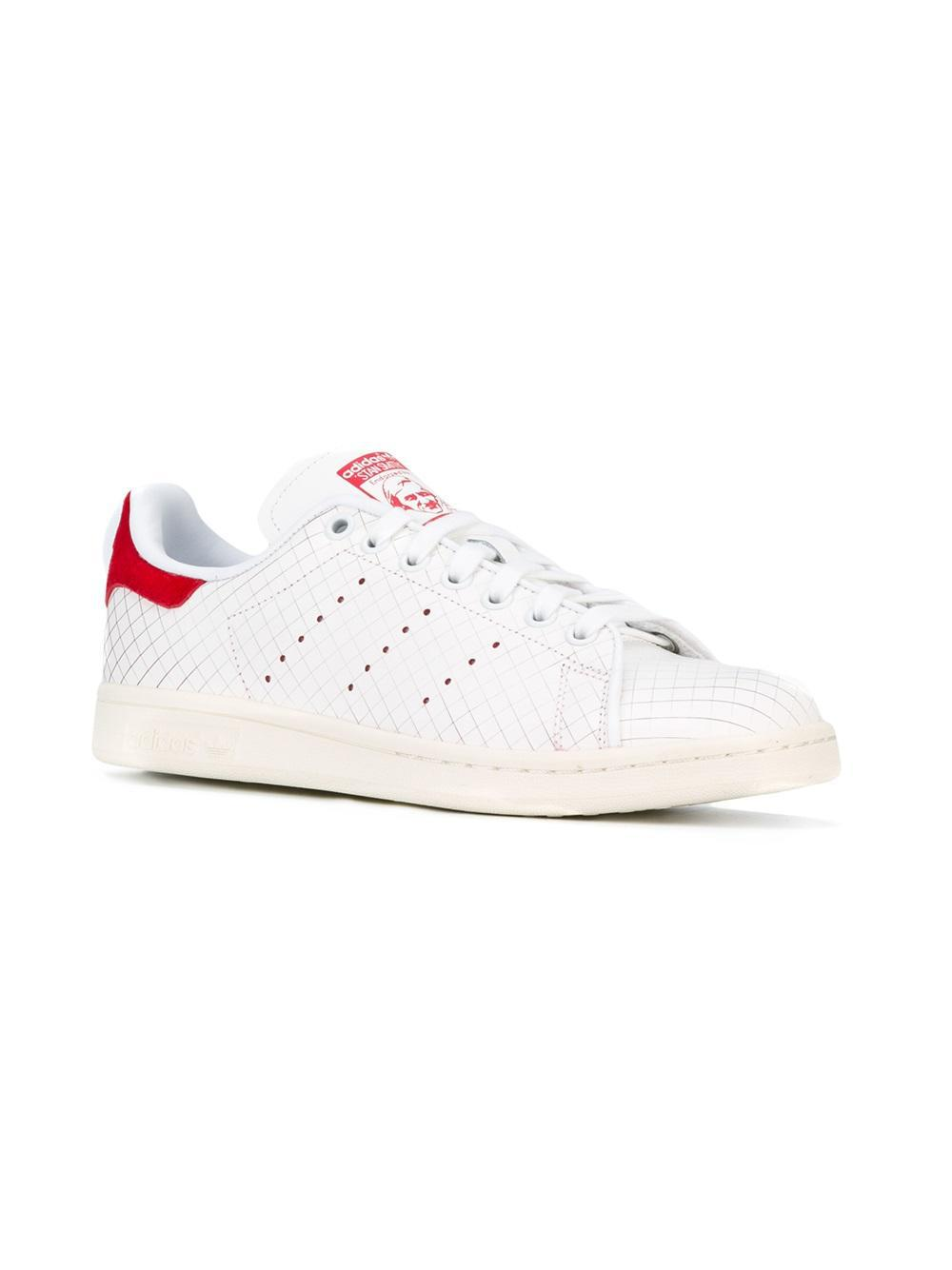 adidas Originals Cotton 'stan Smith' Sneakers in White
