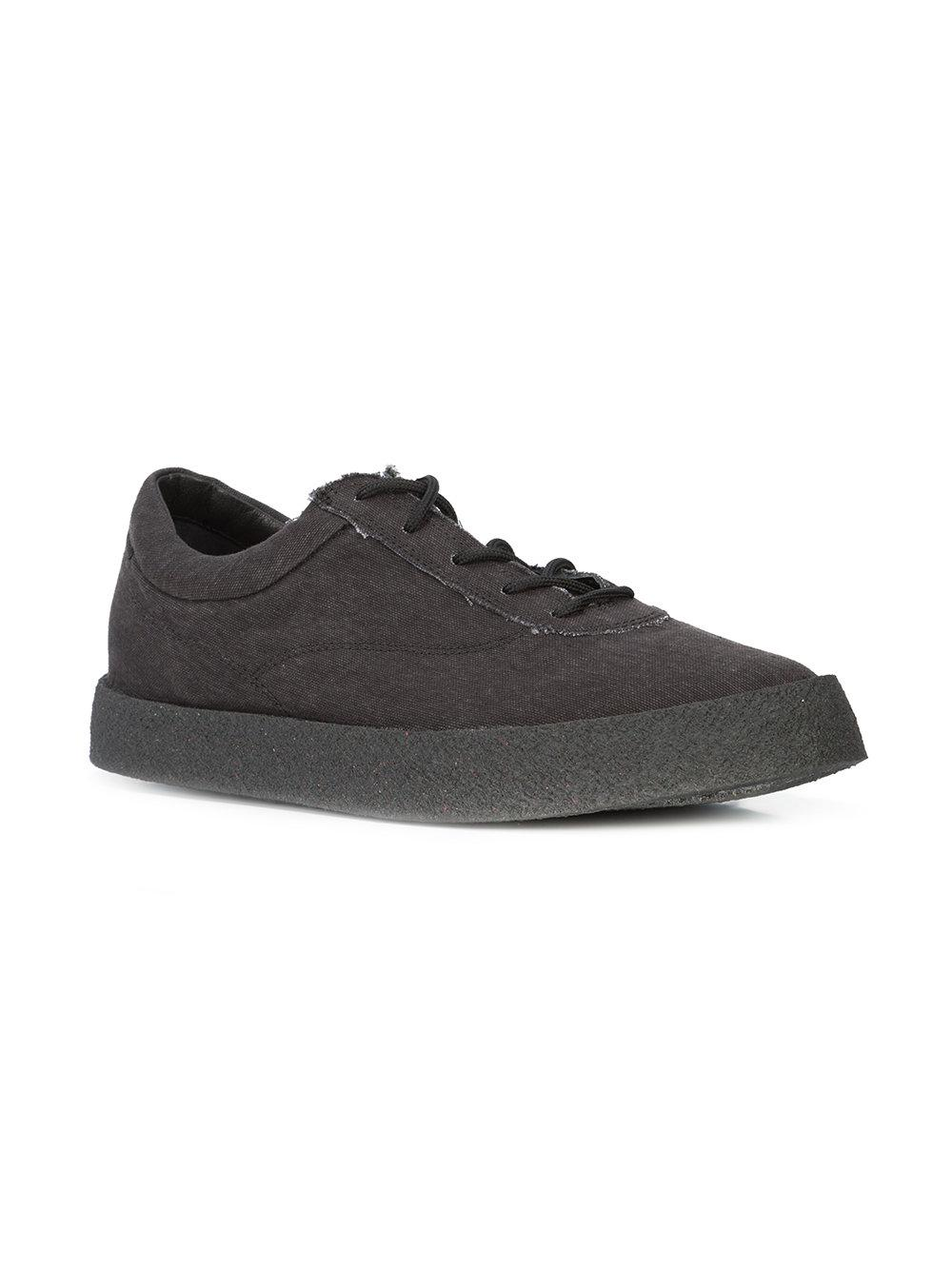 76c08f4bb68 Lyst - Yeezy Season 6 Washed Sneakers in Black for Men - Save 20%