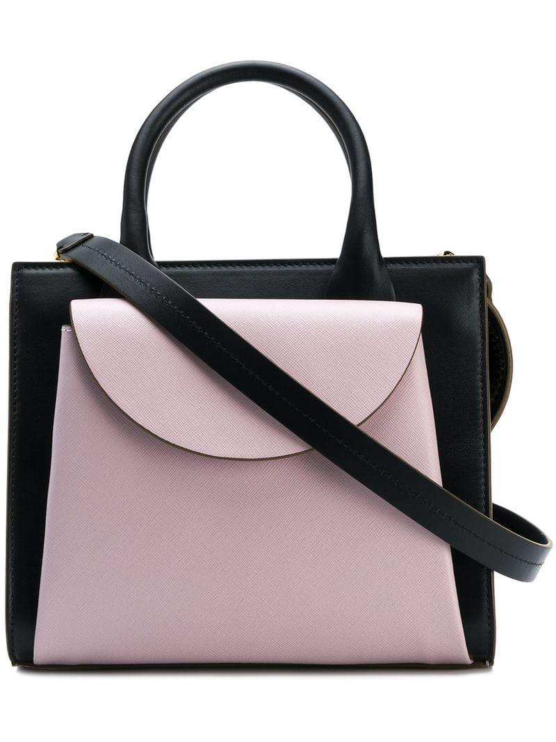 4190ba8a335a Lyst - Marni Law Bag in Pink - Save 24%