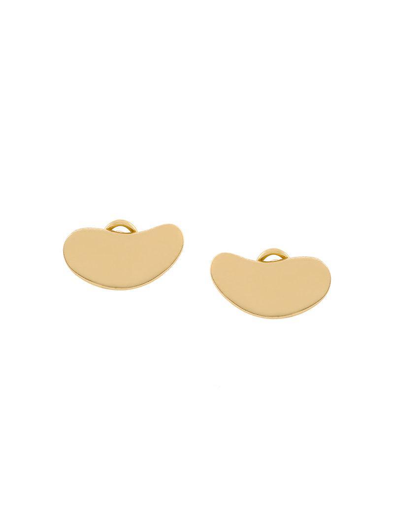 Charlotte Chesnais Nues clip earrings - Metallic nP7vMKOGBN