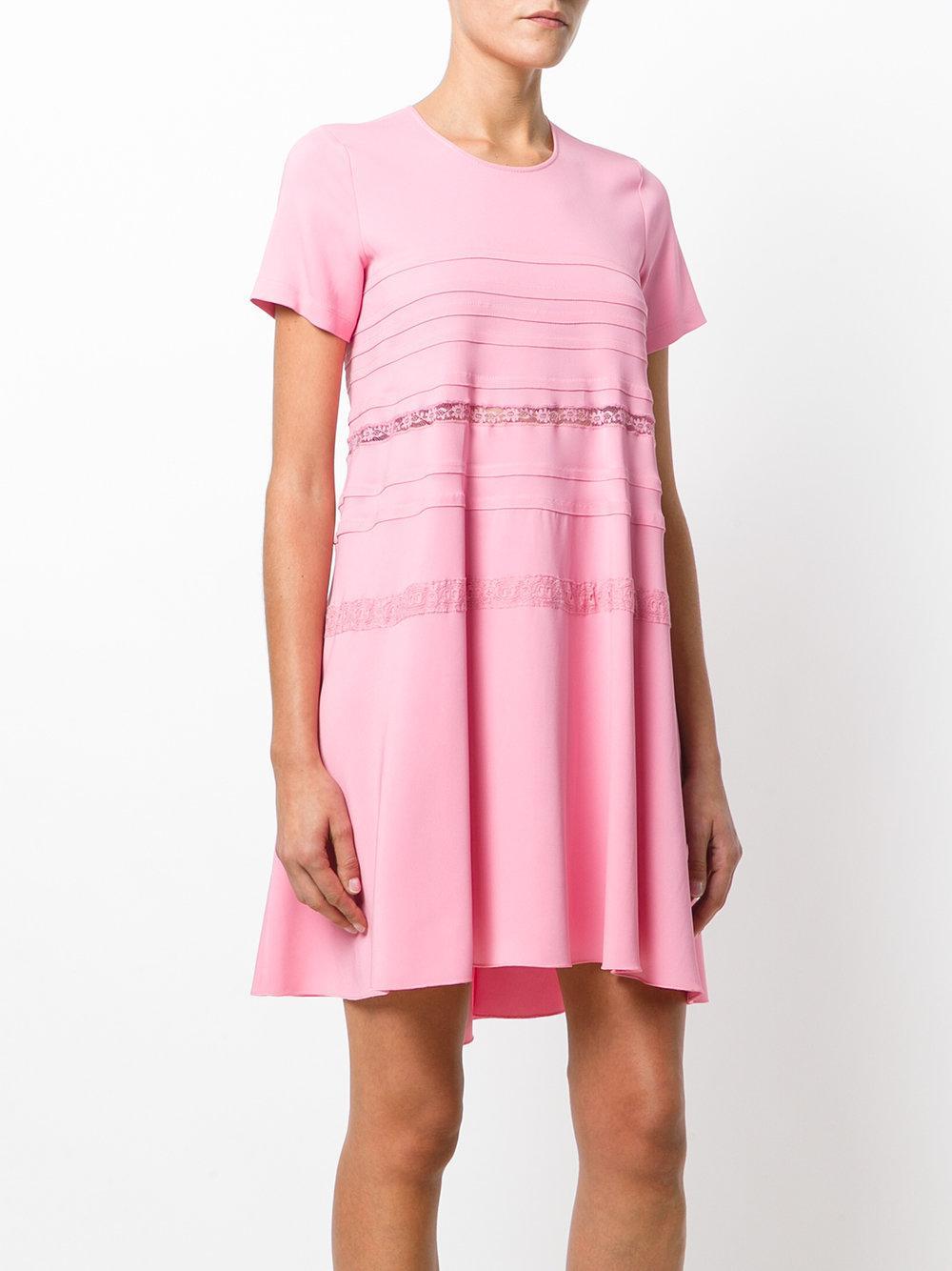 sheer waist dress - Pink & Purple N jz5Jom