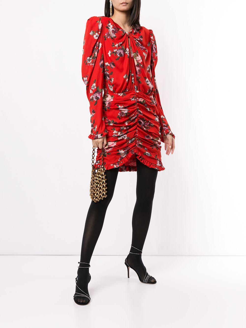 Vestido Barletta corto Magda Butrym de Seda de color Rojo: ahorra un 17 %