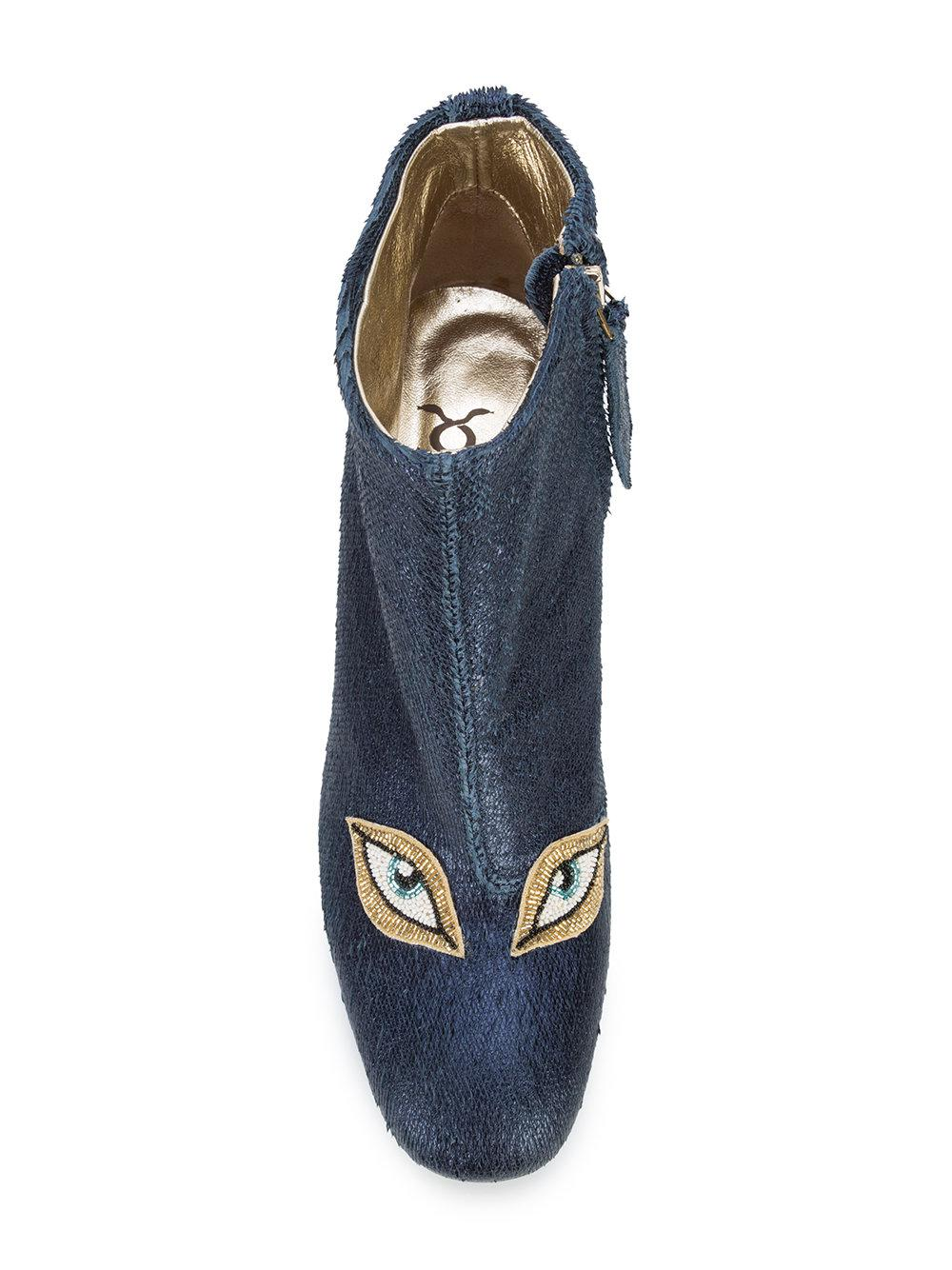 beaded eyes boots - Blue Figue vE0czsnW1