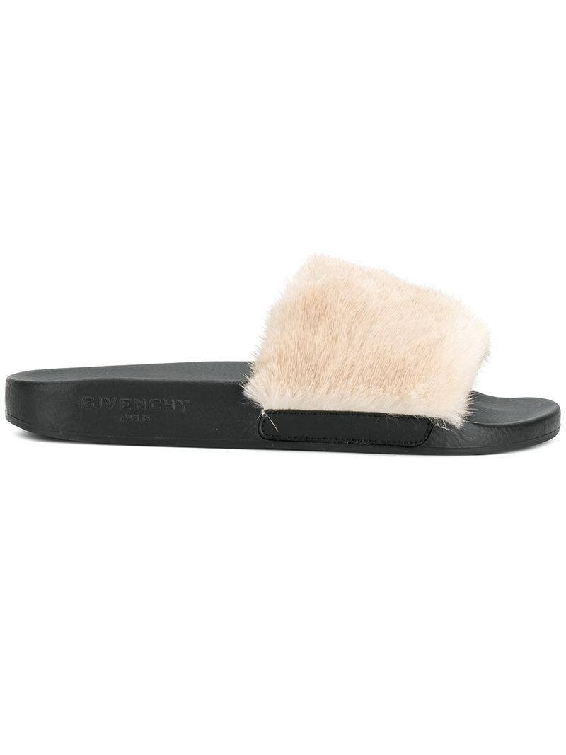 Givenchyopen-toe slide sandals Images De Vente Sast Pas Cher En Ligne Meilleur Gros À Vendre 0DvPdjLb9m