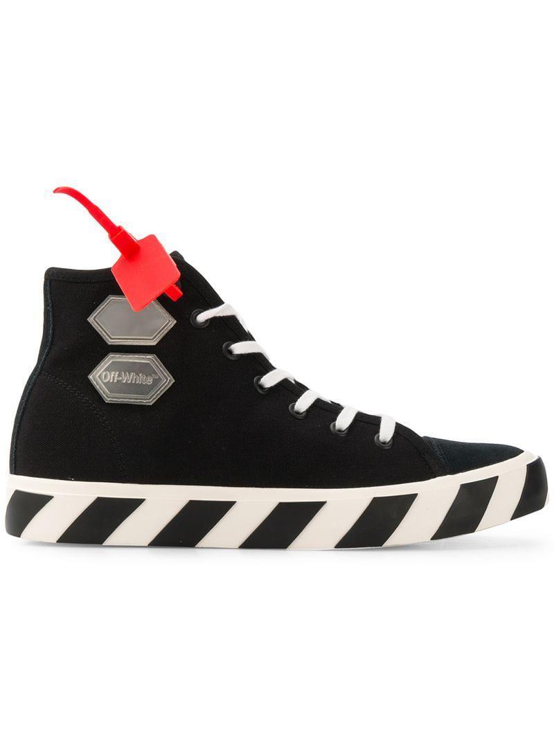 29fbd0fa1271a Lyst - Off-White C O Virgil Abloh Hi-top Sneakers in Black for Men