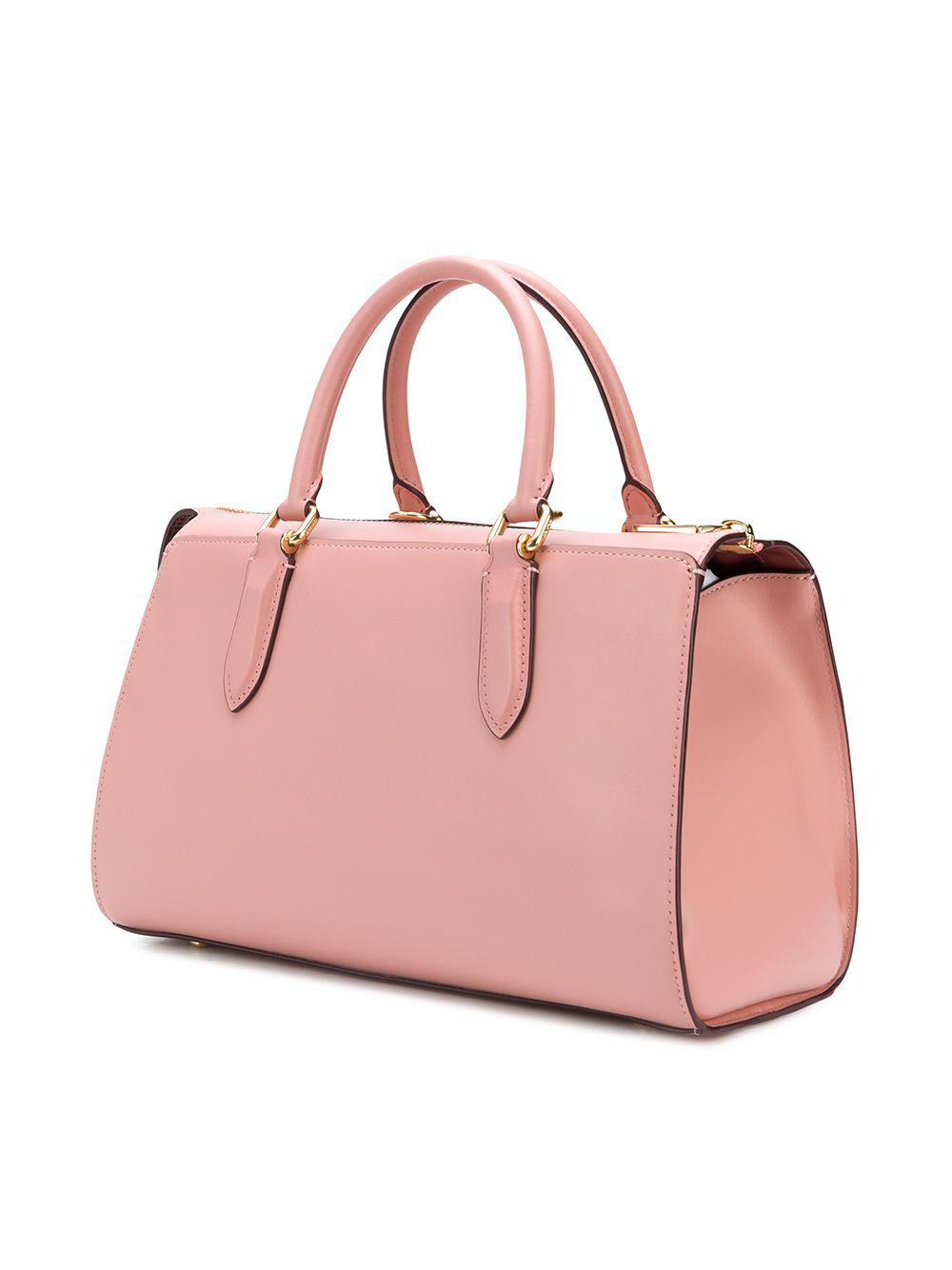 b6ec4656 COACH Pink X Selena Gomez Selena Bond Bag