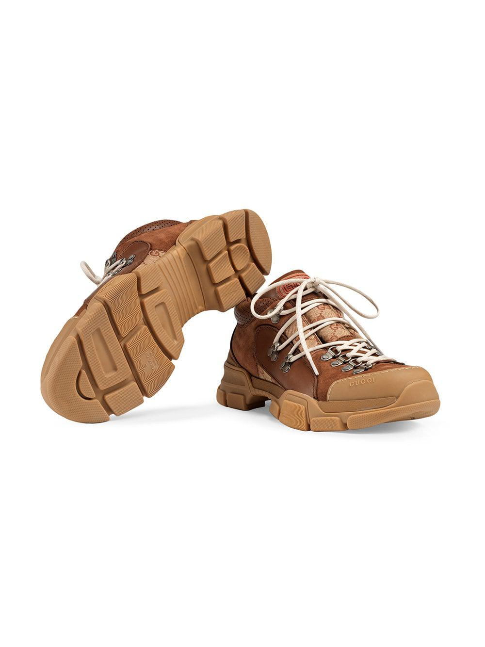 Gucci - Brown Zapatilla deportiva Flashtrek GG for Men - Lyst. Ver en  pantalla completa bd28214cec0