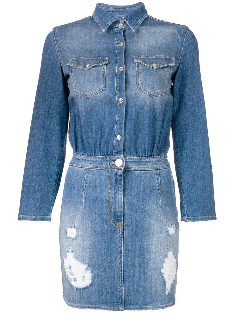 Lima denim dress - Blue OLYMPIAH fDK0m