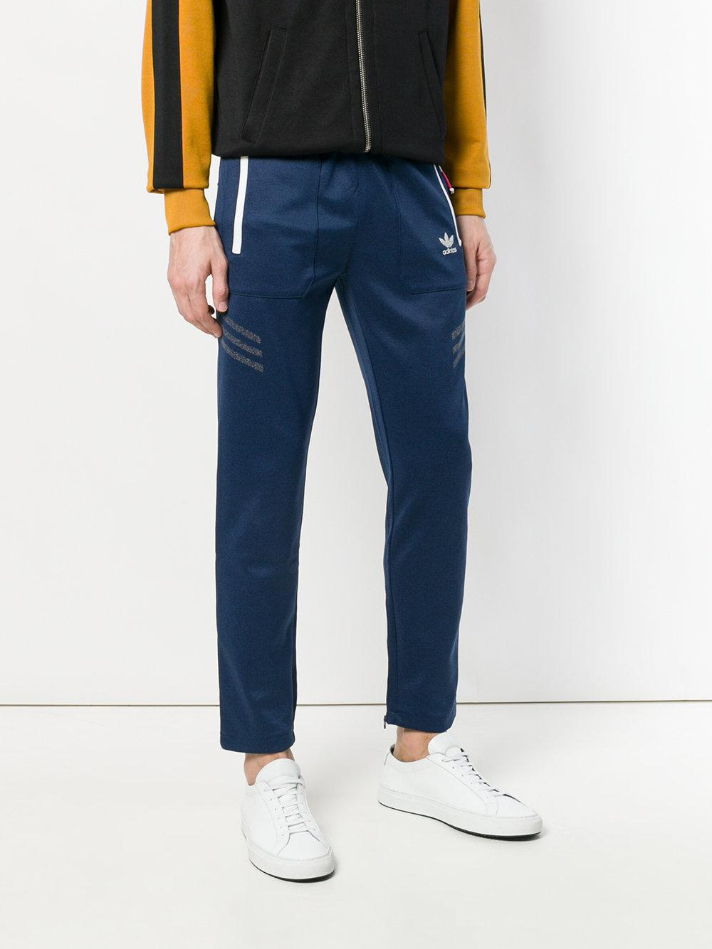 adidas Synthetic Ua&sons Classic Track Pants in Blue for Men