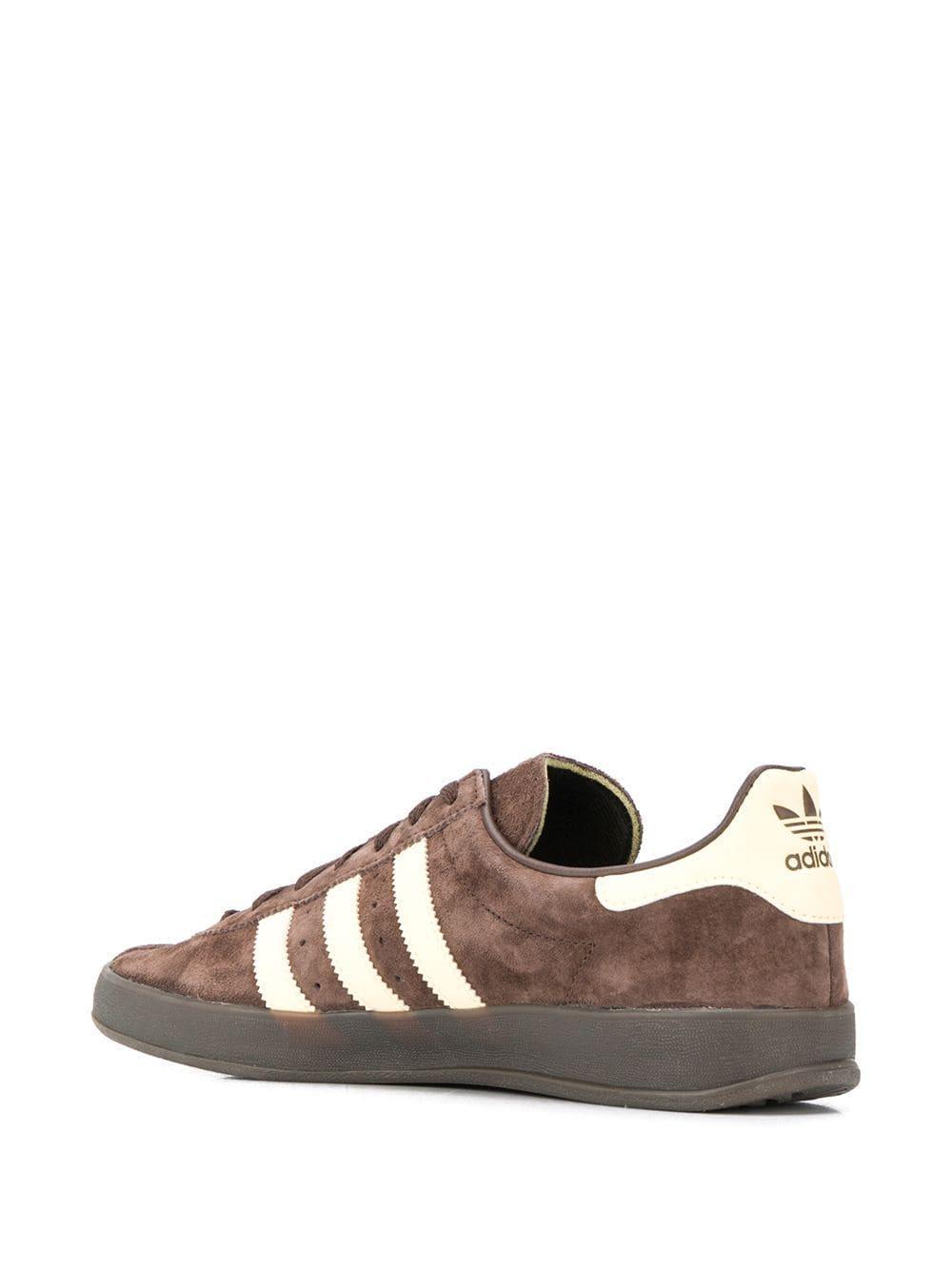 adidas Leer Broomfield Low-top Sneakers in het Bruin voor heren