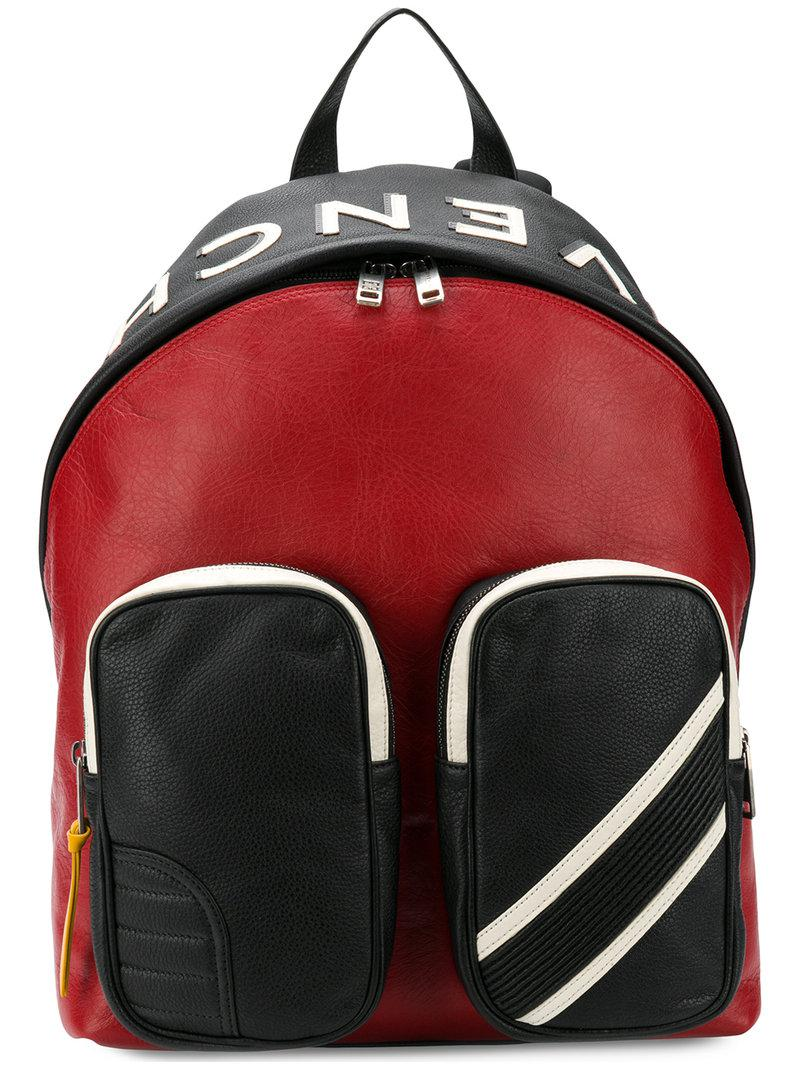 ef4be738a0bd Givenchy Mc3 Backpack in Red for Men - Lyst