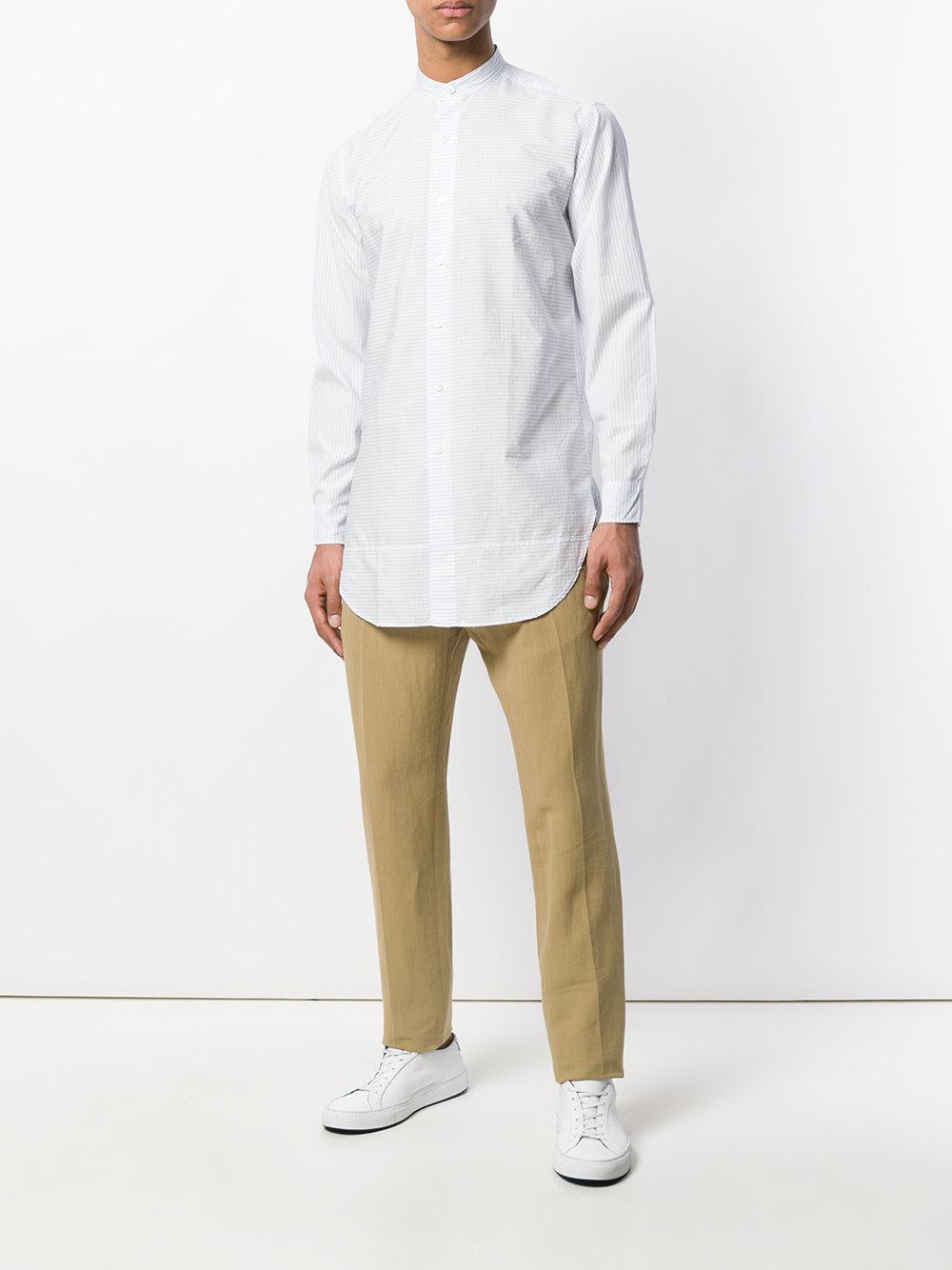Kent & Curwen Cotton Straight-leg Trousers for Men