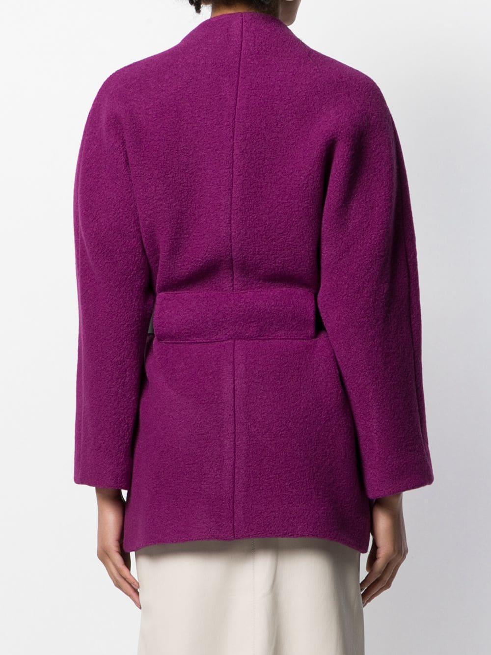 Manteau Cliff Cuir Ba&sh en coloris Violet wLzWD