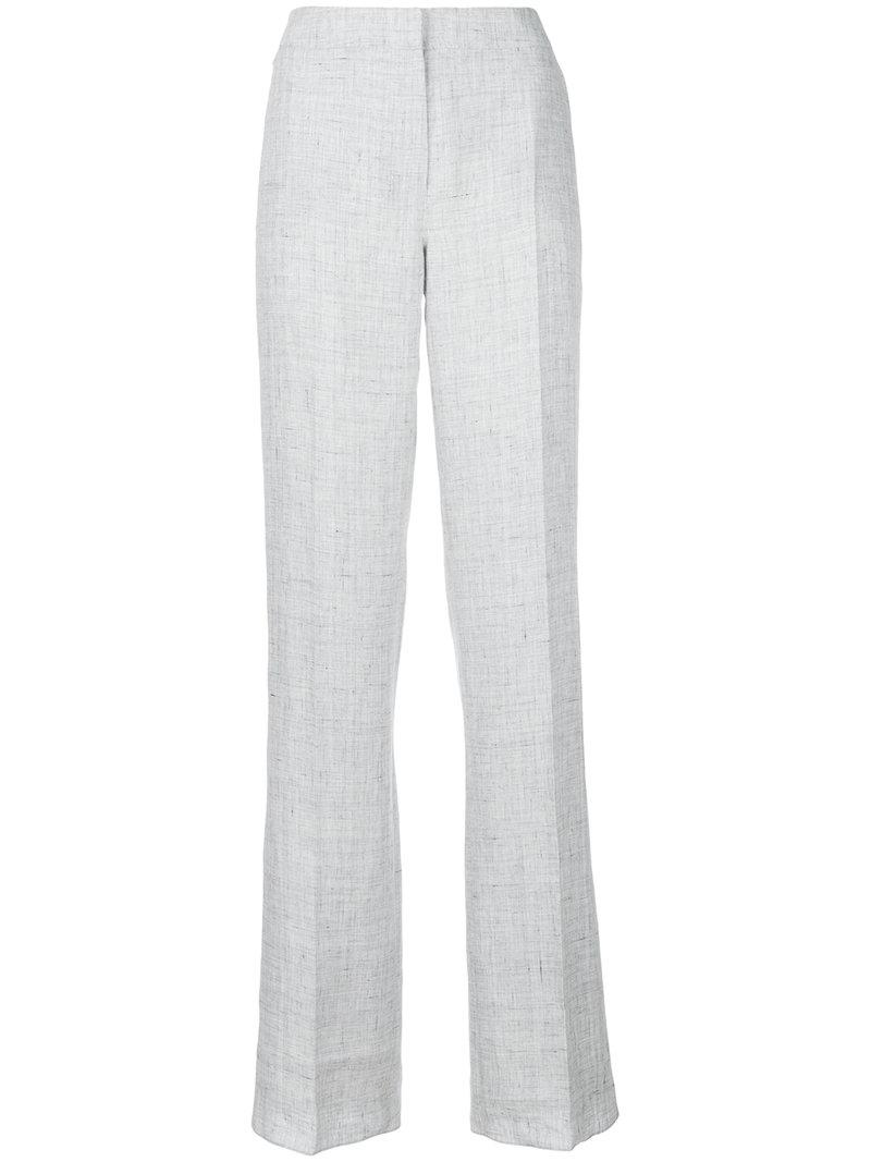 high-waisted pleated trousers - Grey Max Mara CsPWUv1