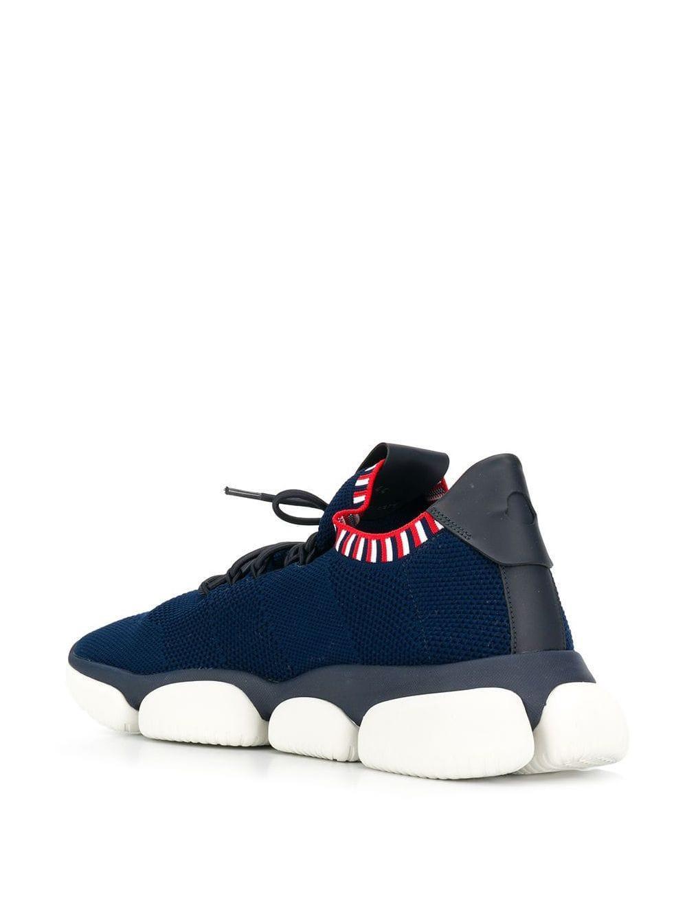 Moncler Rubber Sneakers Met Bubbel Zool in het Blauw voor heren