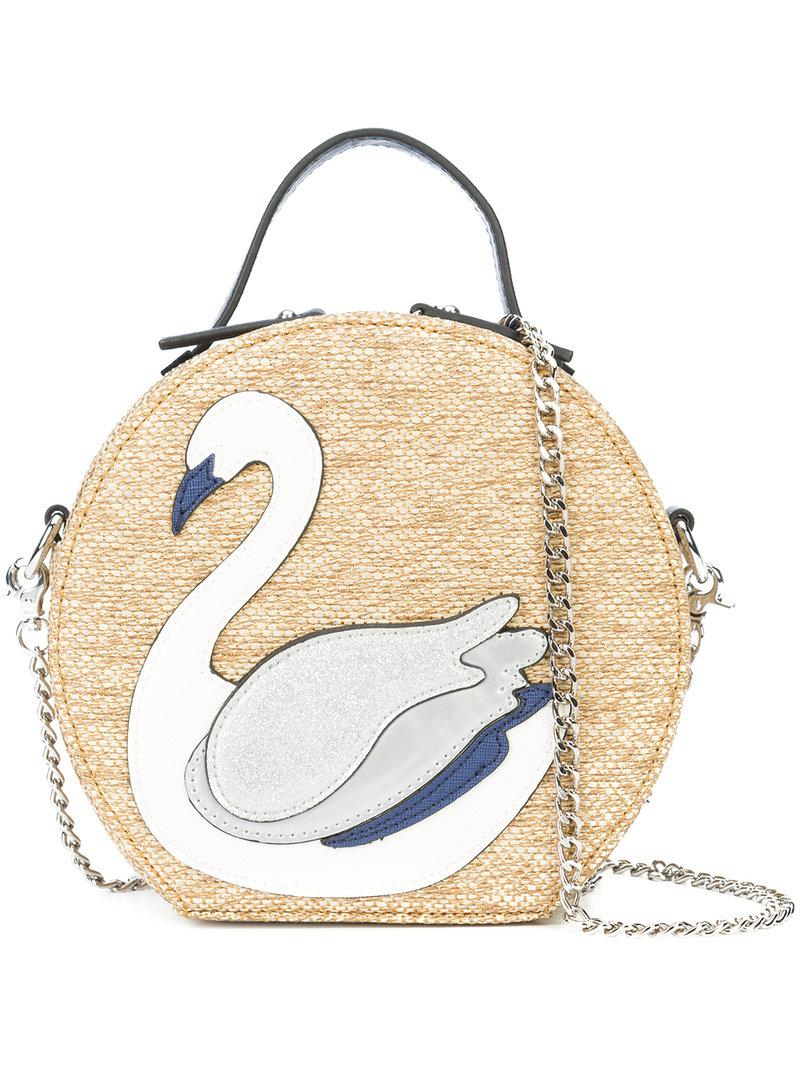 639a346ae Christian Siriano Swan Patch Tote Bag - Lyst