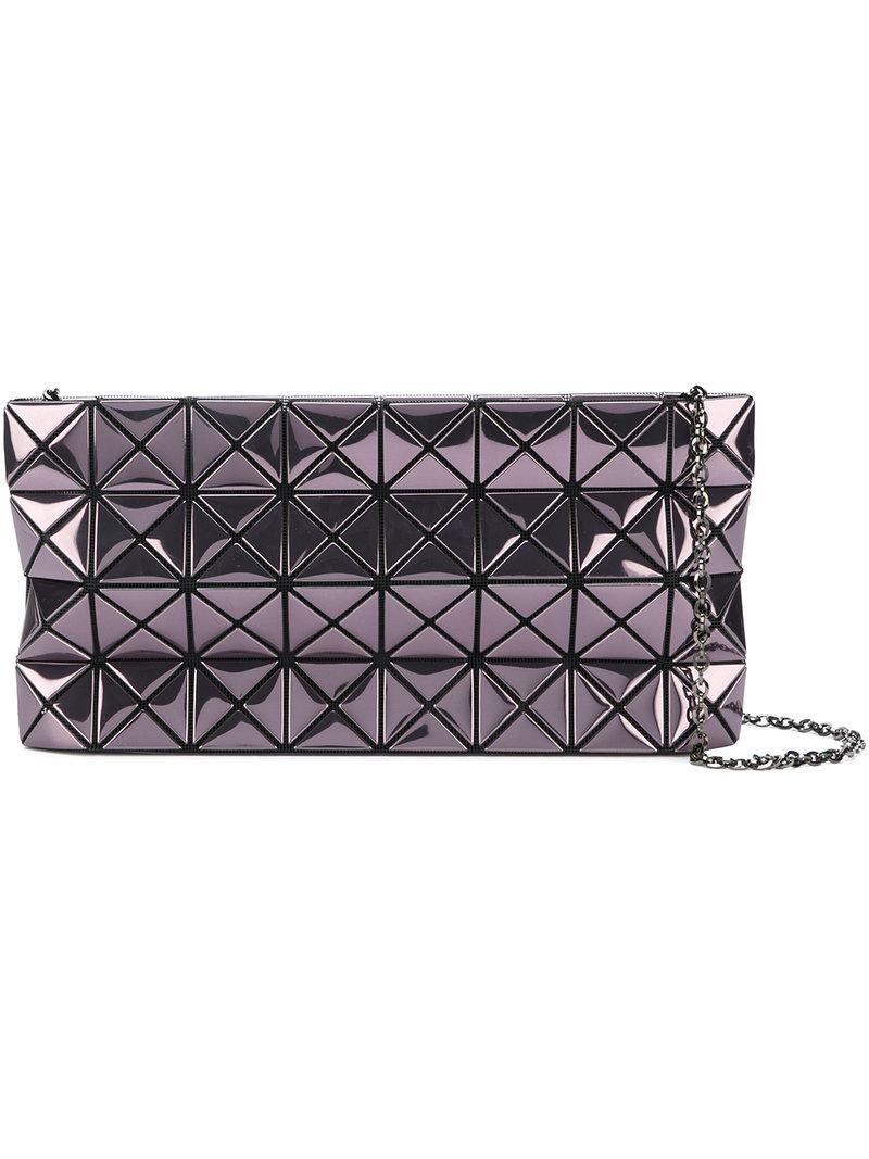 Bao Bao Issey Miyake Metallic Geometric Shoulder Bag Lyst