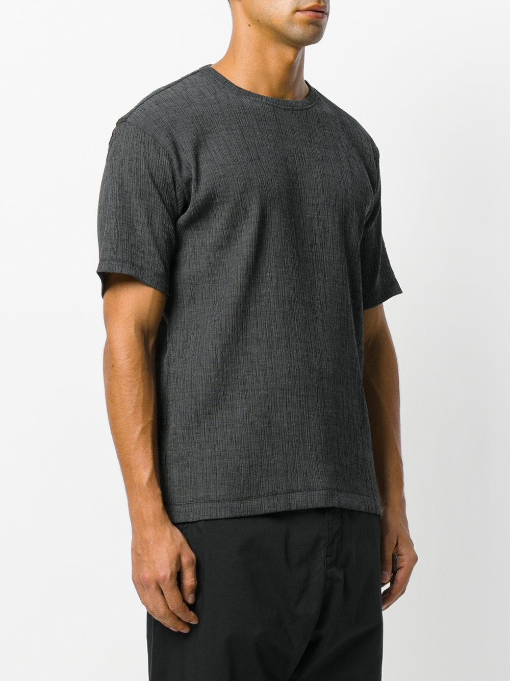 158f828fbd Lyst - Issey Miyake Crepe T-shirt in Gray