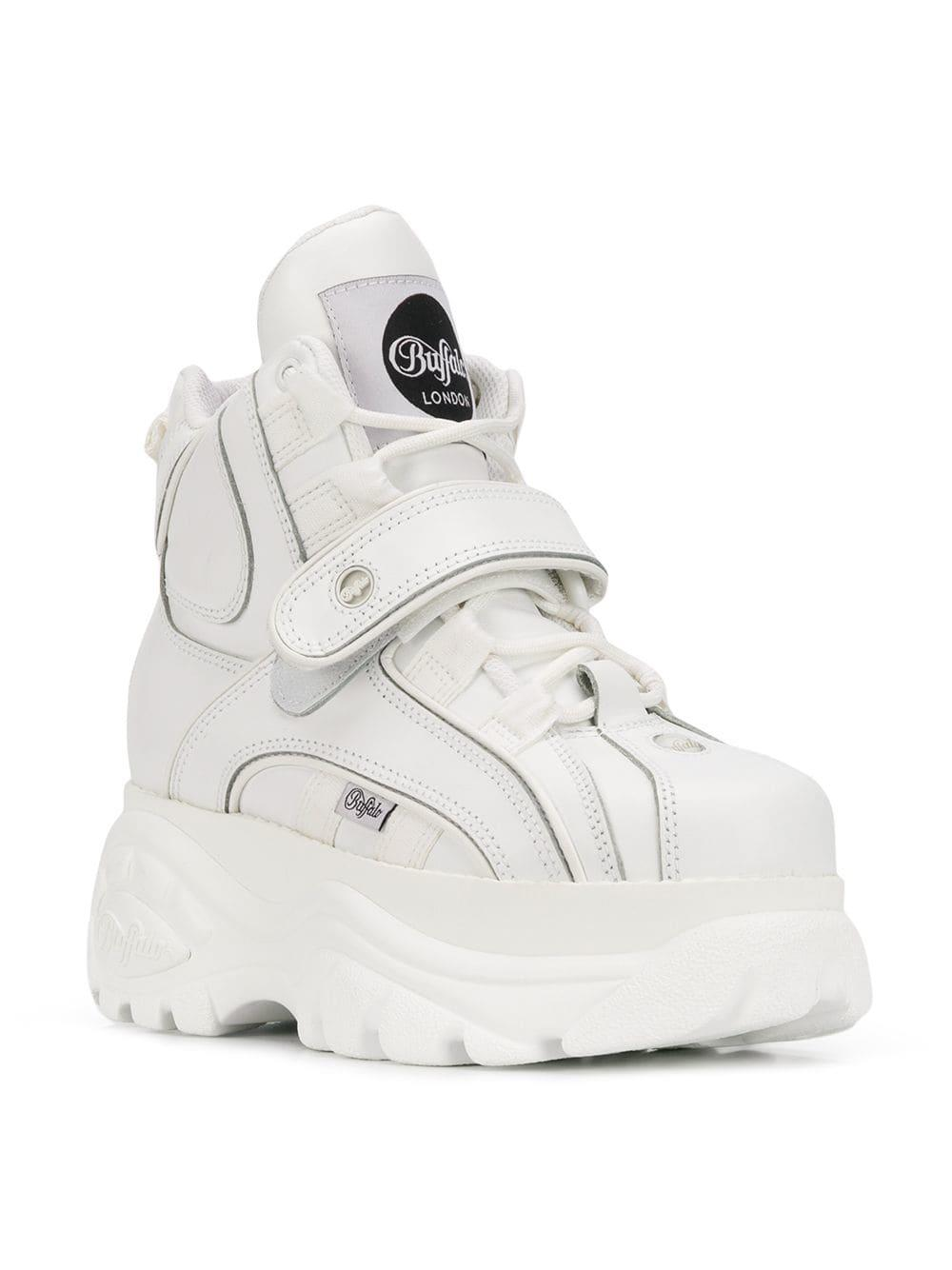 5fe76fb5e7e Lyst - Buffalo Platform Sneakers in White
