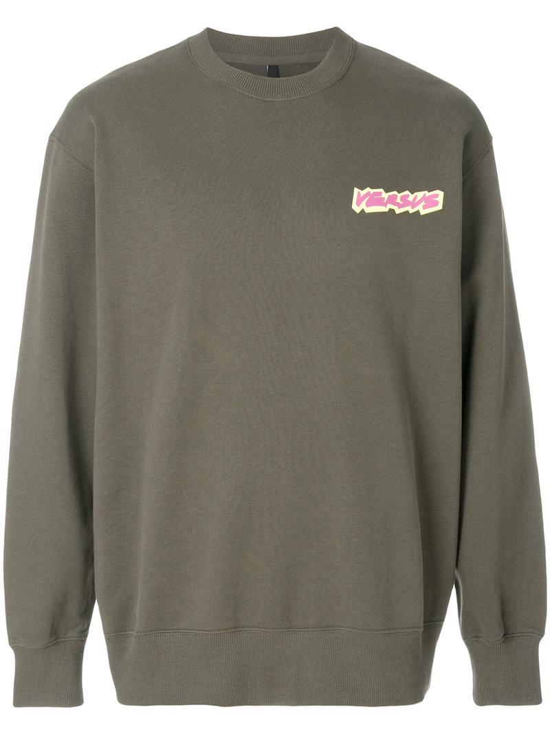 crew neck sweatshirt - Green Versus Buy Cheap Purchase 4v4wopeC