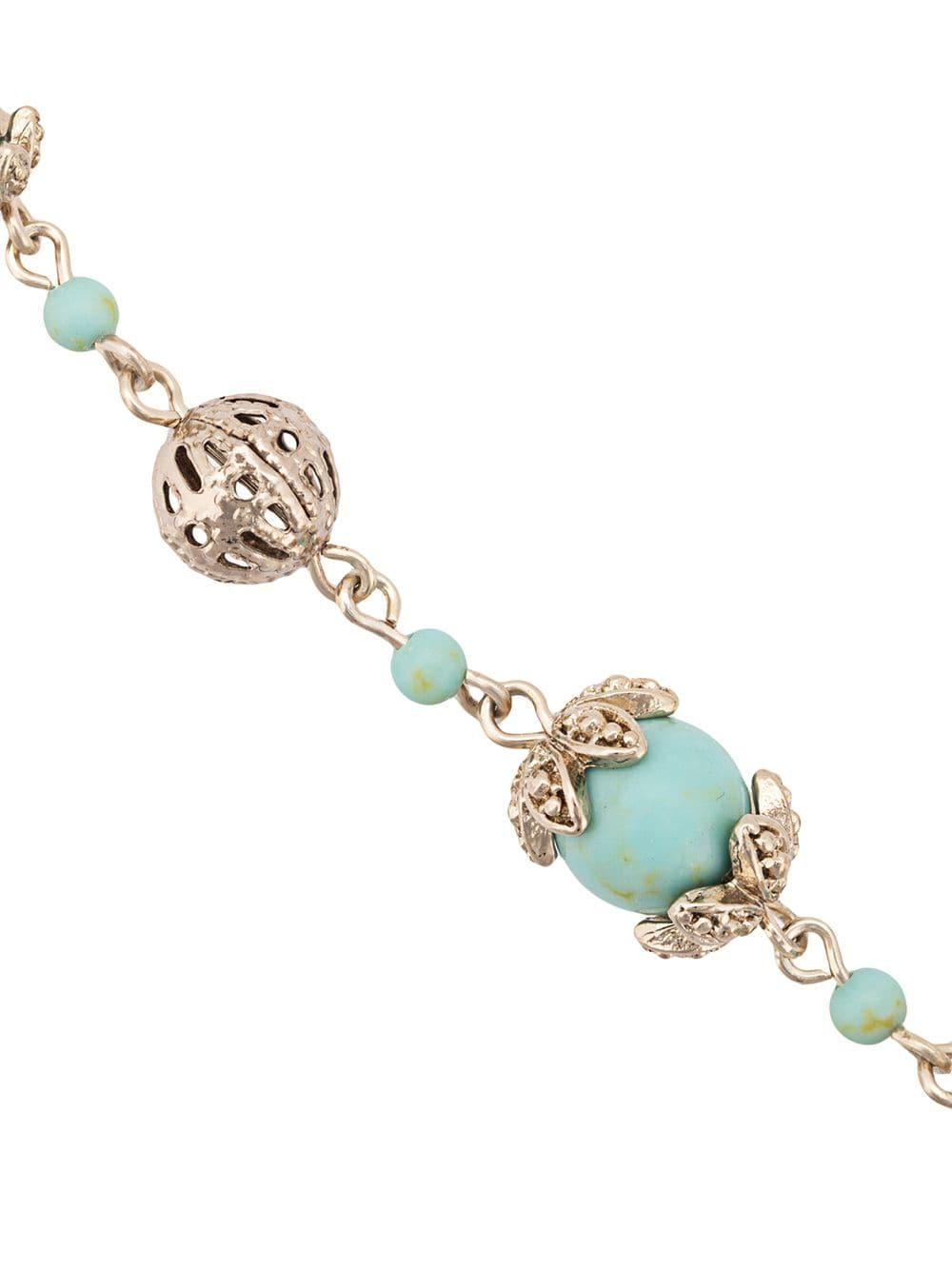 Beaded filigree bracelet Marchesa en coloris Bleu 4Ii9
