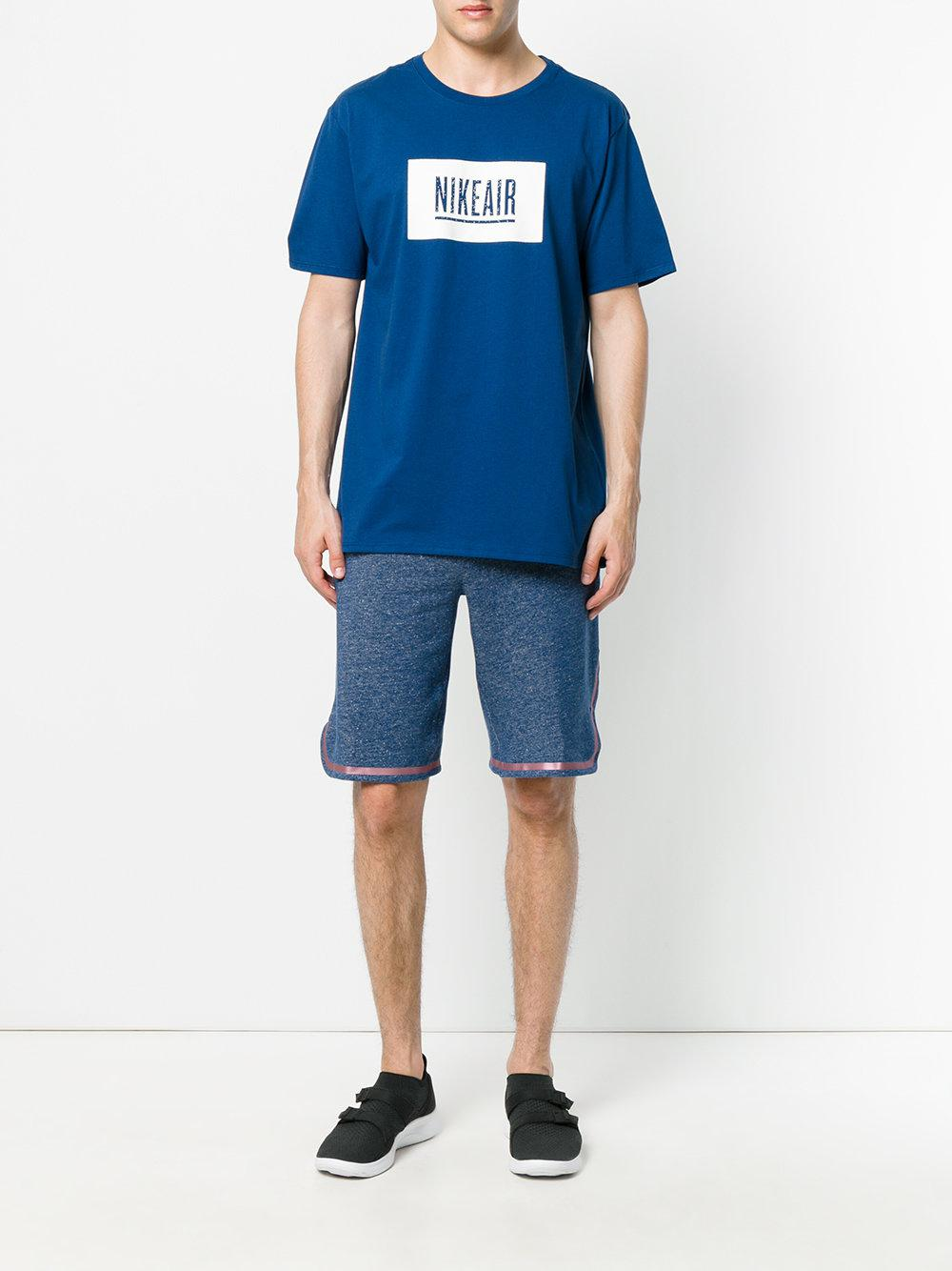 online store cdad4 b02be Lyst - Nike Lab X Pigalle Air T-shirt in Blue for Men