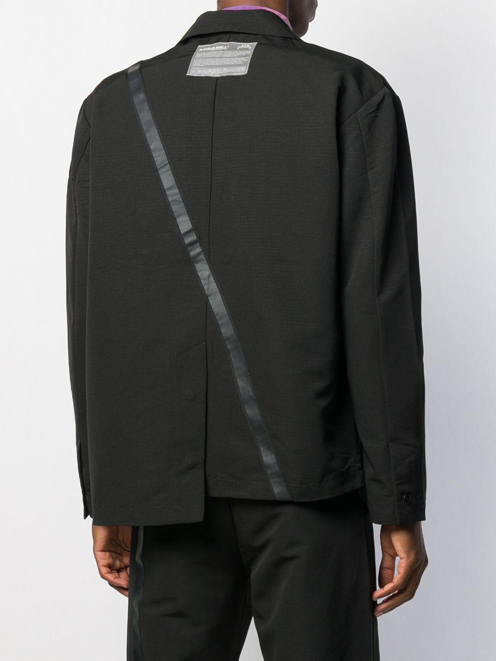 A_COLD_WALL* Asymmetrische Blazer in het Zwart voor heren