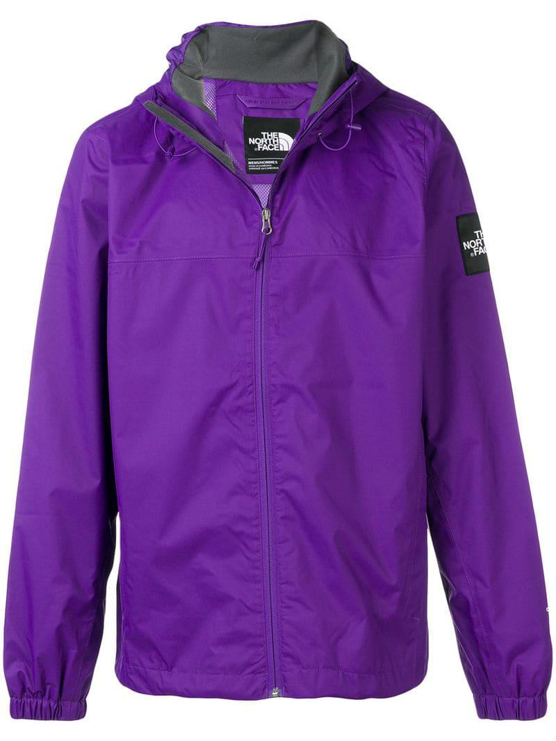3399598e26 The North Face Hooded Jacket in Purple for Men - Save 43% - Lyst