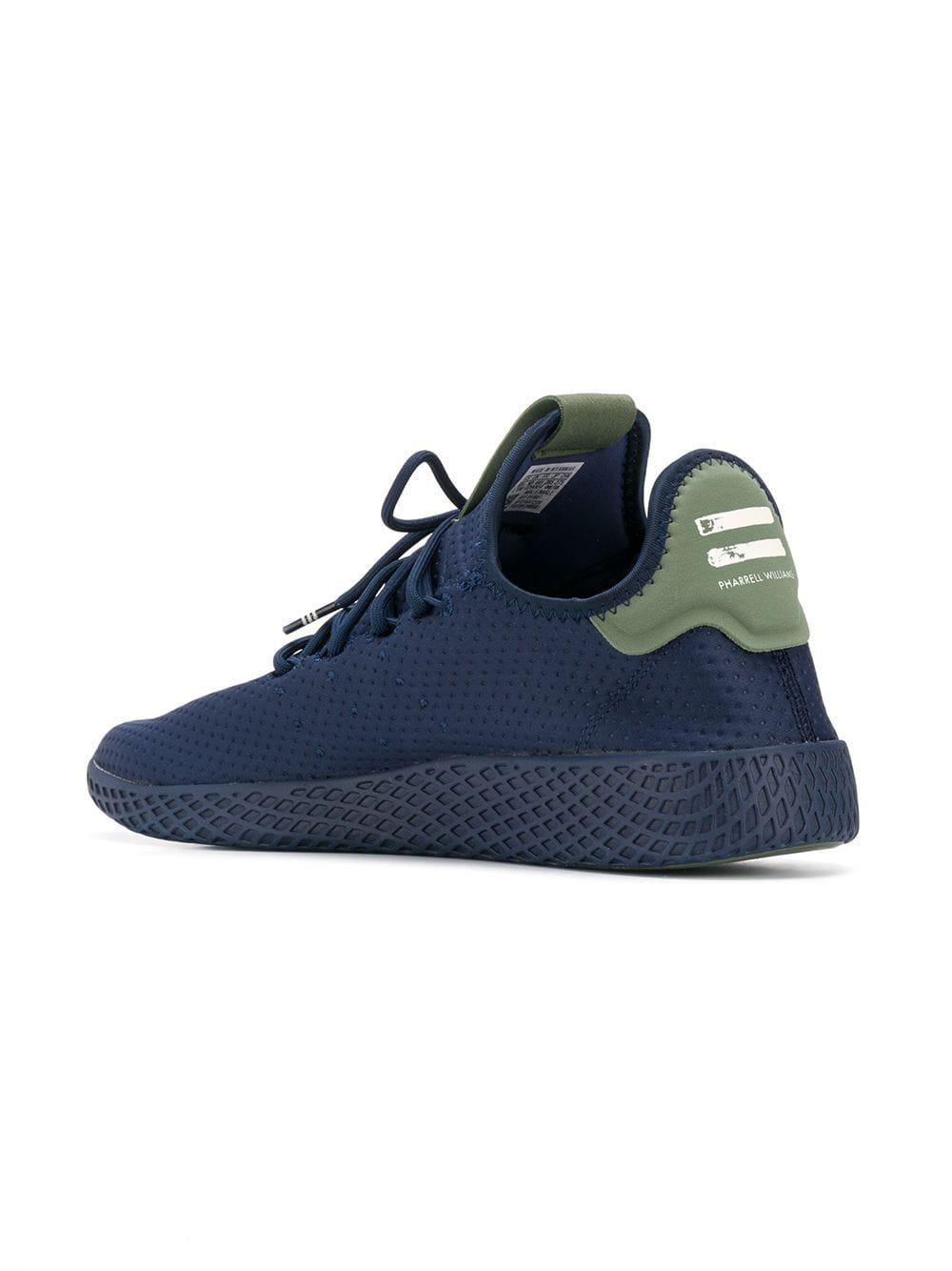 Adidas Originals - Blue X Pharrell Williams Tennis Hu Sneakers for Men -  Lyst. View fullscreen 40836092c02