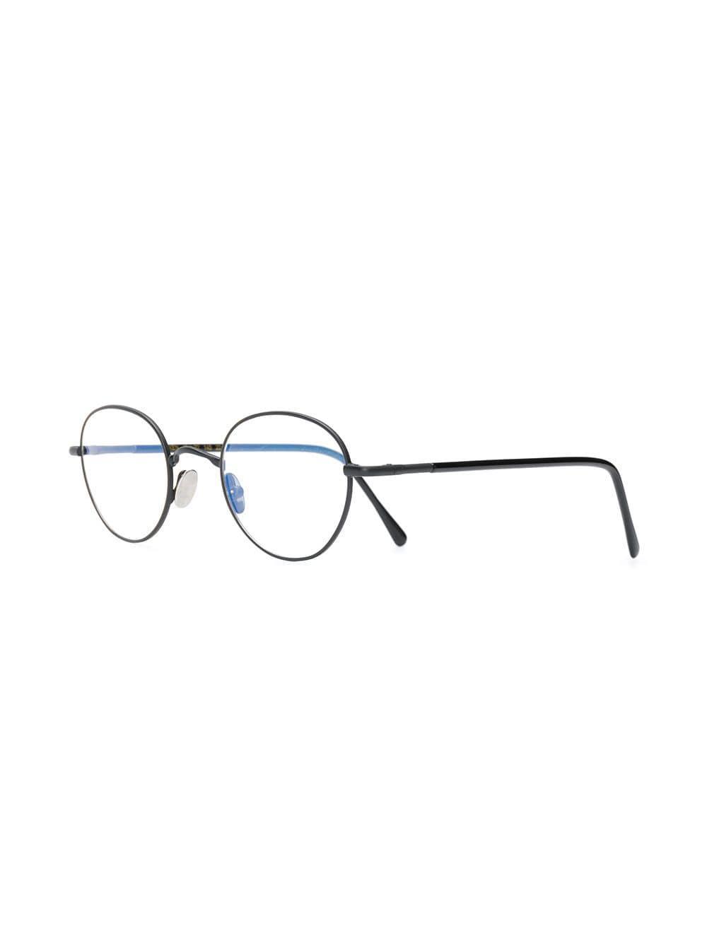 241b7e8080 Lgr - Black Classic Round Glasses - Lyst. View fullscreen