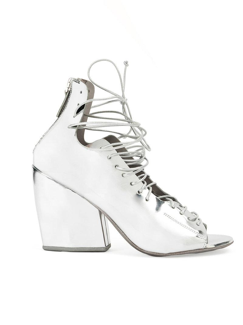 block heel pumps - Metallic Marsèll CBpW38A4
