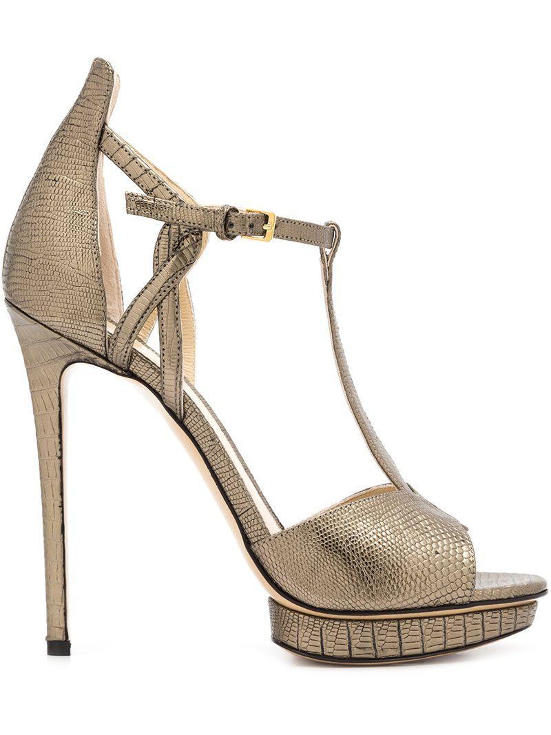 Mirabelle sandals - Grey Monique Lhuillier Cheap Sale Shop Offer gxUmtRO62
