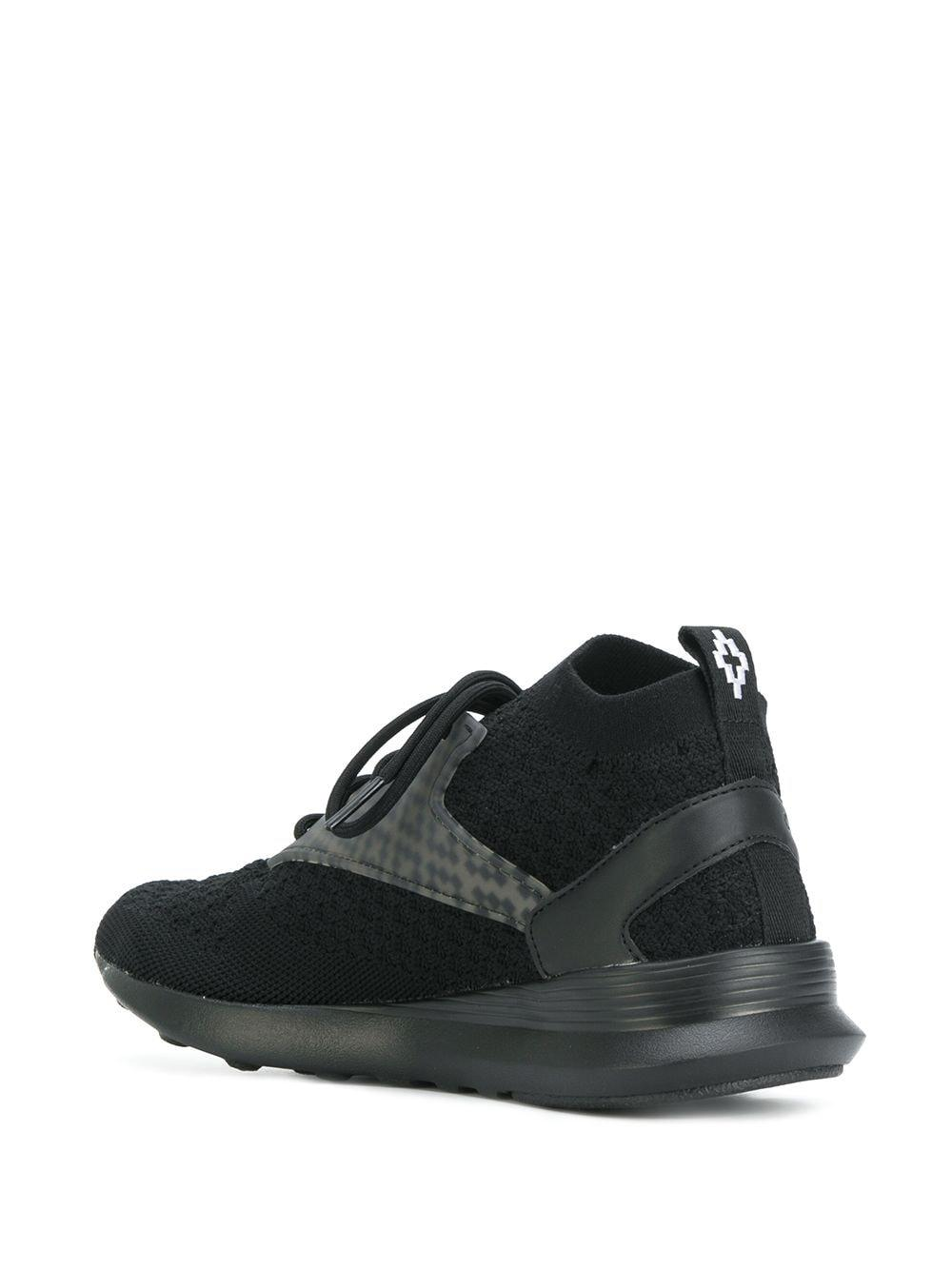 Marcelo Burlon Cotton Zoku Sneakers in Black