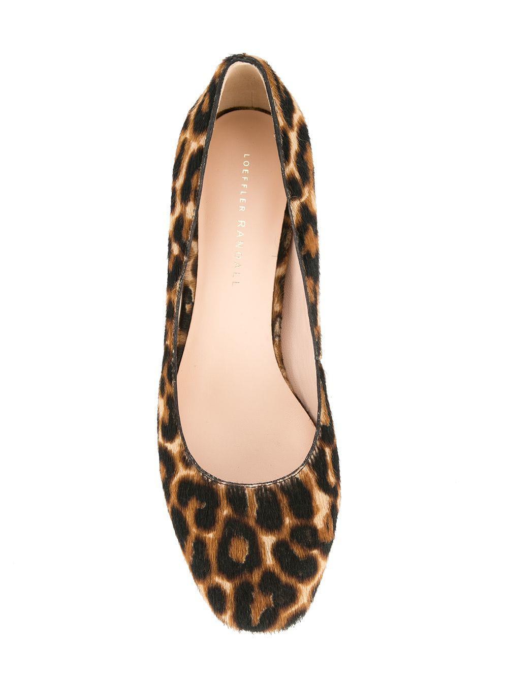 Zapatos de tacón Jane Loeffler Randall de Pelo de color Marrón