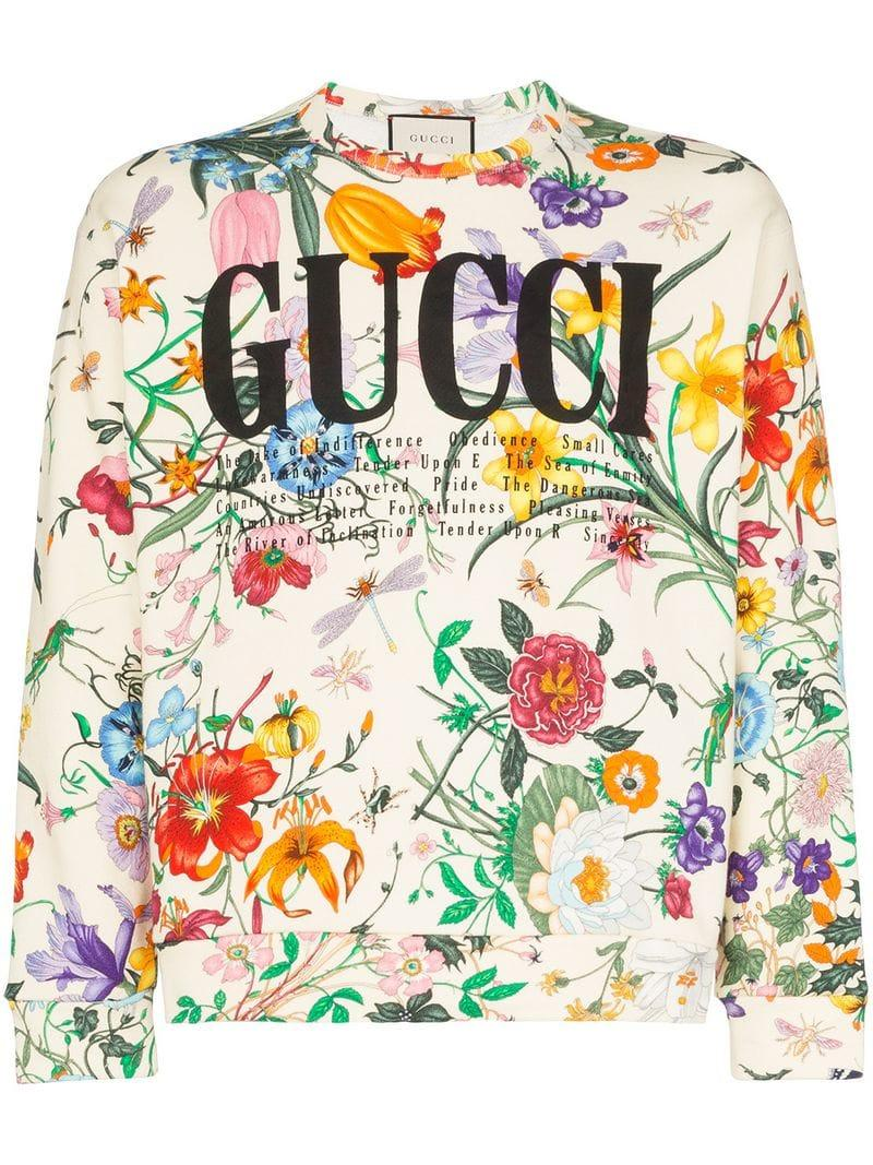 ba502ca6f Gucci. Women's Oversized Sweatshirt With Logo Print